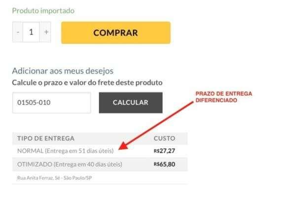 PRAZO DE ENTREGA IMPORTACAO 590x400 - Que Nem Banana de cara nova com a estreia do novo site.