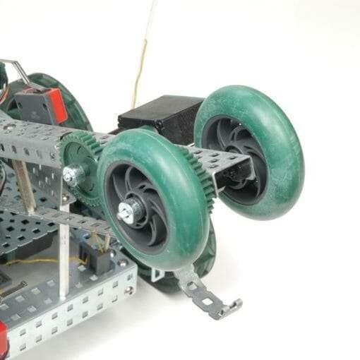 Kit 4 Rodas Robótica Vex Alta Tração 7 cm