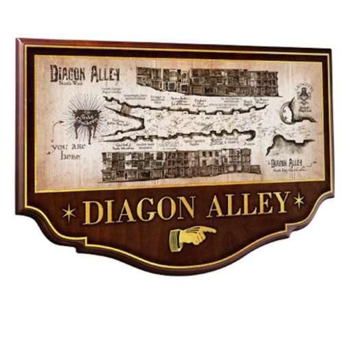 Placa Beco Diagonal Harry Potter Oficial