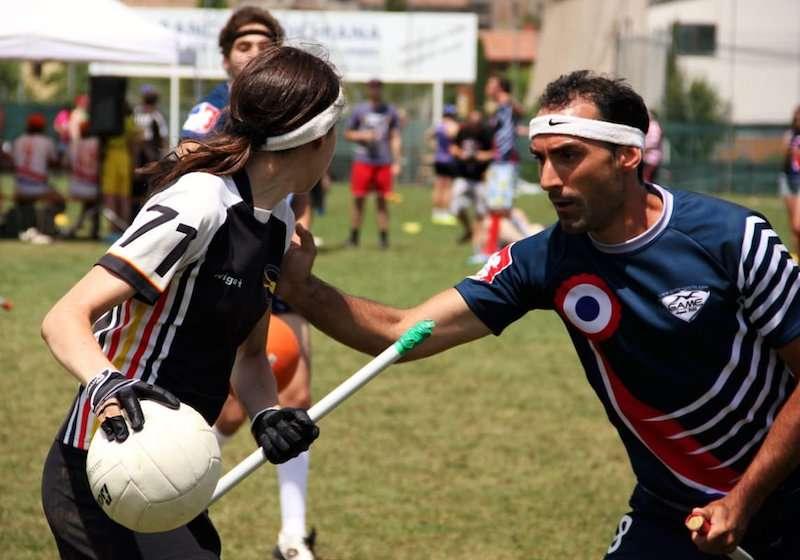 Quadribol para Trouxas um esporte real2 - Quadribol para Trouxas, um esporte real, complexo e desafiador.