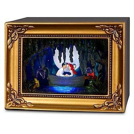 Quadro Ariel Passeio de Barco Disney Gallery of Light2 - Quadro Ariel Passeio de Barco Disney Gallery of Light