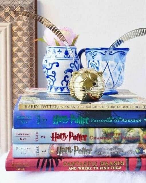 Relógio de mesa Pomo de Ouro Harry Potter