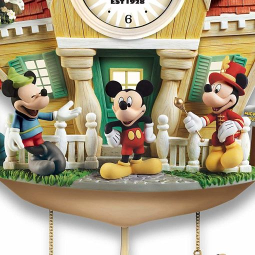 Relogio de Parede Mickey e amigos3 510x510 - Relógio Cuco Disney Mickey Mouse Através dos Anos