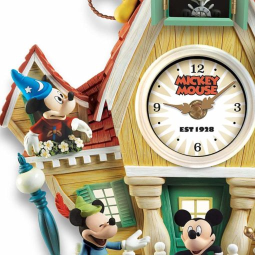 Relogio de Parede Mickey e amigos4 510x510 - Relógio Cuco Disney Mickey Mouse Através dos Anos