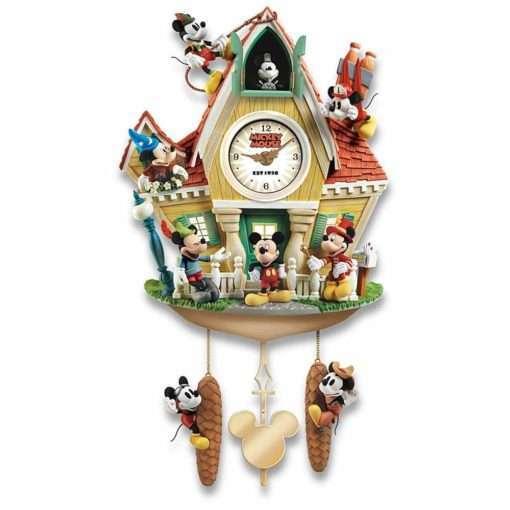 Relogio de Parede Mickey e amigos5 510x510 - Relógio Cuco Disney Mickey Mouse Através dos Anos