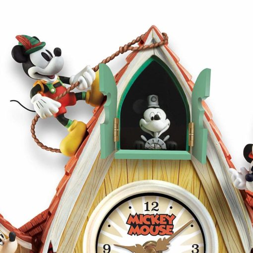 Relogio de Parede Mickey e amigos6 510x510 - Relógio Cuco Disney Mickey Mouse Através dos Anos