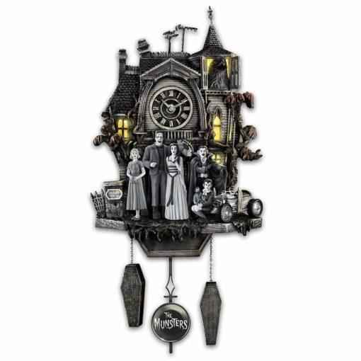 Relógio Cuco Clássicos da TV - Os Monstros
