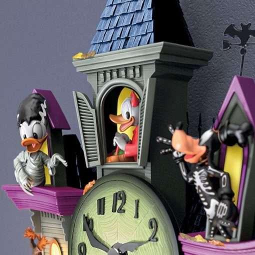 Relogio de parede Disney Mickey Halloweem 510x510 - Relógio Cuco Disney Festa de Halloween Mickey