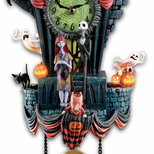 Relógio Cuco Disney O Estranho Mundo de Jack