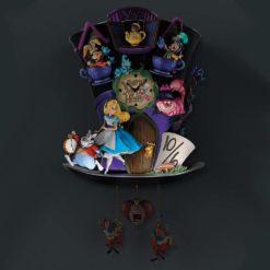 Relogio de parede alice no pais das maravilhas 247x247 - Relógio Cuco Disney Alice no País das Maravilhas