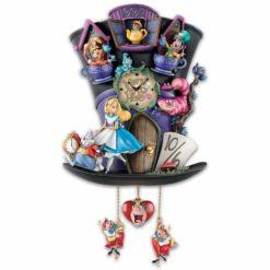 Relogio de parede alice no pais das maravilhas1 247x247 - Relógio Cuco Disney Alice no País das Maravilhas