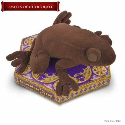 Pelúcia Sapo de Chocolate Harry Potter Oficial