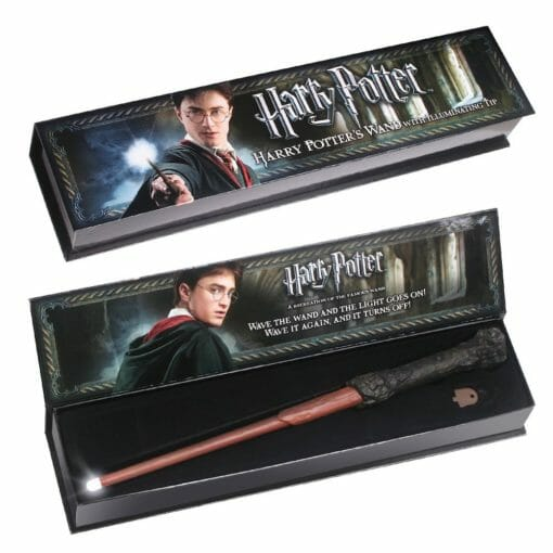 Varinha Harry Potter Illuminating Led