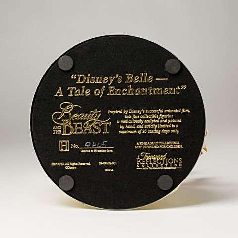 bela e a fera edicao limitada12 - Escultura Disney Bela um conto de encantamento