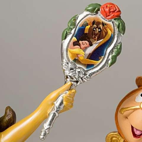 bela e a fera edicao limitada4 - Escultura Disney Bela um conto de encantamento