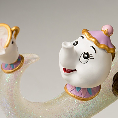 bela e a fera edicao limitada7 - Escultura Disney Bela um conto de encantamento