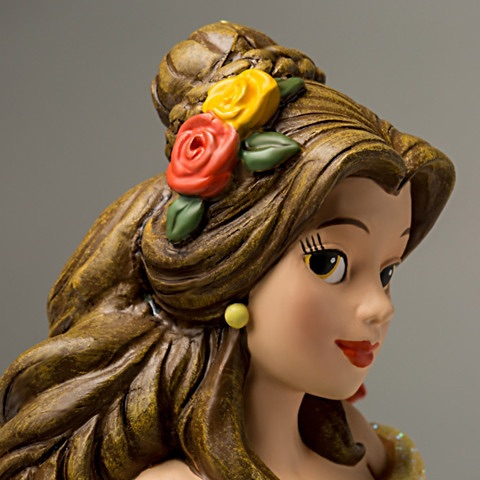 bela e a fera edicao limitada9 - Escultura Disney Bela um conto de encantamento