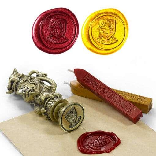 carimbo grifinoria noble collection 2 510x510 - Kit 5 Carimbos Seladores de Cartas Hogwarts