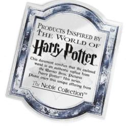 certificado harry potter noble collection 1 758x800 247x247 - Varinha Belatriz Lestrange Oficial com Expositor