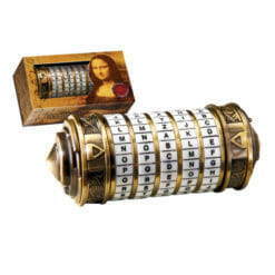 Criptex Código da Vince Réplica Oficial Miniatura