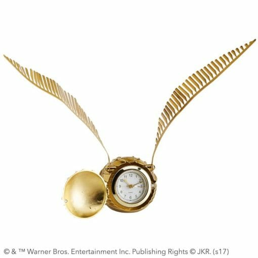 harry potter golden snitch clock o 2 510x510 - Relógio de mesa Pomo de Ouro Harry Potter
