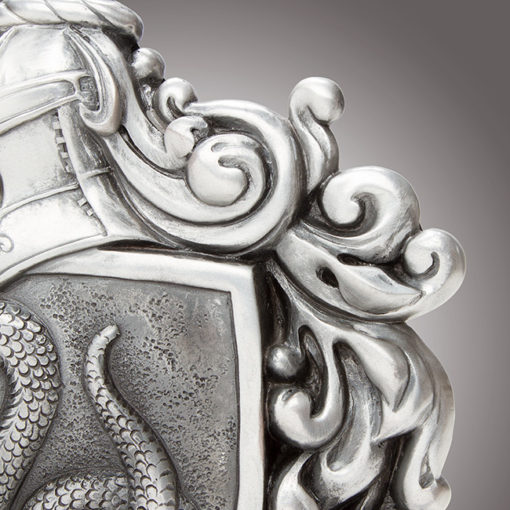 jtsg hp house crests detail 510x510 - Brasão da casa Sonserina Oficial