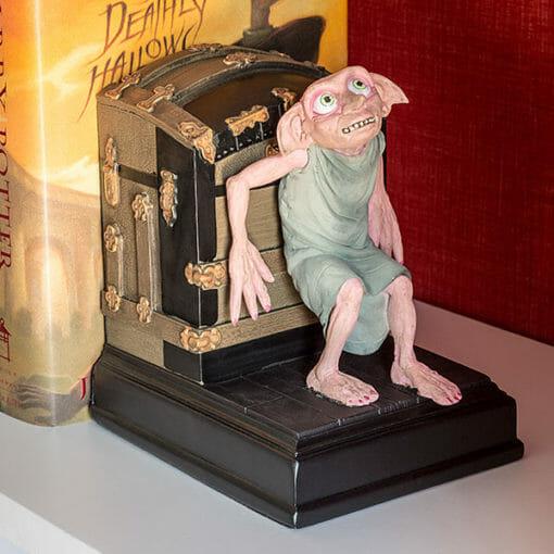 jtsj harry potter dobby bookend det 510x510 - Dobby Estátua Apoio para Livros Oficial