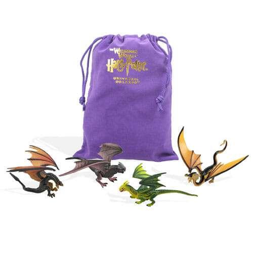 kit 4 dragoes e bolsa torneio tribruxo harry potter universal studios 701 3 20151018174017 - 4 Dragões Torneio Tribruxo Brinquedo Oficial