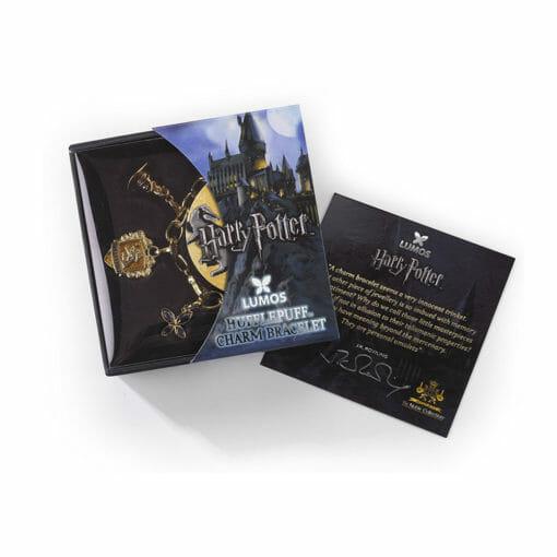 lumos bracelete lufa lufa 510x510 - Bacelete Lufa-Lufa com Pingentes Harry Potter Lumos
