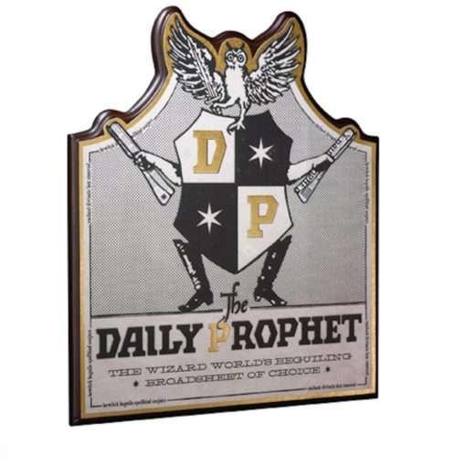 Placa Profeta Diário Harry Potter Oficial