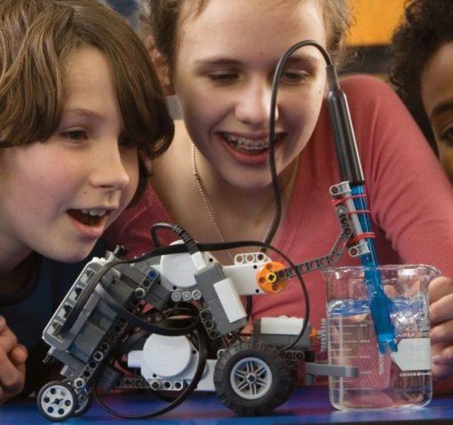 senor v 510x479 - Sensor Adaptador Vernier 9799 Robótica Lego NXT / EV3