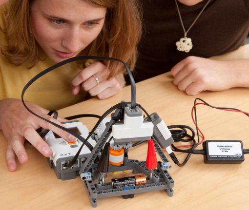 sensor v2 510x431 - Sensor Adaptador Vernier 9799 Robótica Lego NXT / EV3